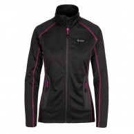 Kilpi Eris fleece jakke, dame, mørkegrå