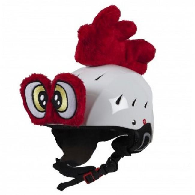Hoxy Ears ROOSTER er en hanekam og haneøjne til skihjelmen, som let sættes fast. Med øjne og ører bliver det et hit at køre med hjelm og det er nemt at genkende dit barn på bjerget. Pisterne forvandler sig til fantasiland og skidagen bliver en leg. Det er høj kvalitet og de tåler det barske vintervejr. Når skiferien er slut kan den bruges på cykelhjelmen, eller andre sportshjelme.