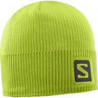 Salomon Logo Beanie, lime