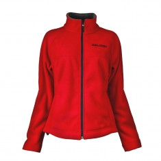 DIEL Microfleece jakke, dame, rød