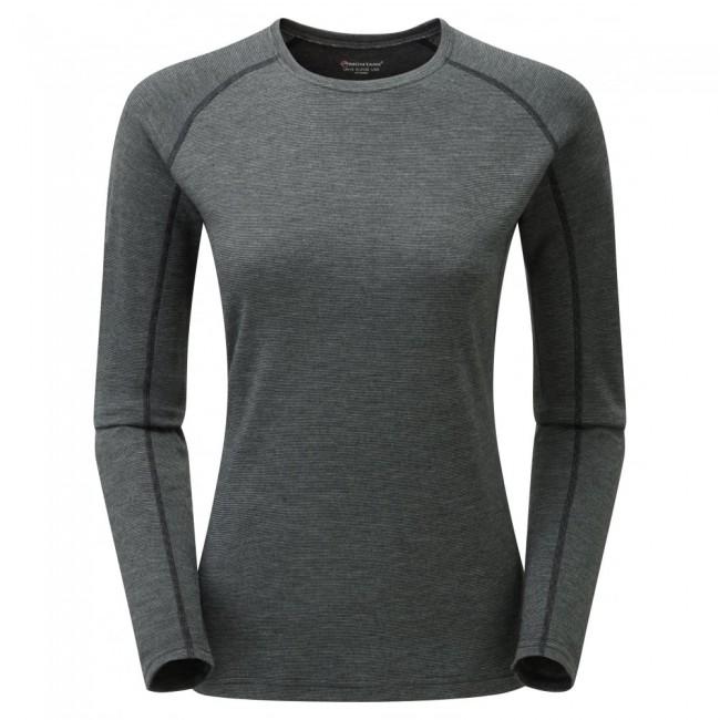 Den er lavet af 50% merinould, 25% PrimaLoft® og 25% polyester. Merinoulden holder fantastisk på varmen, sørger for at trøjen aldrig lugter, og så kradser det overhovedet ikke. PrimaLoft® gør endnu mere for at holde på varmen - også selvom trøjen skulle blive våd. Polyesteren sørger for, at trøjen er strækbar og holdbar nok, til at du kan bruge den igen og igen i lang tid.Opsummeret så gør denne skiundertrøje altså præcis, hvad sådan en skal - bare lidt bedre.Trøjen er behandlet med et POLYGIENE® antibakterielt middel, som sørger for, at bakterierne ikke hober sig op, hvis den ikke bliver vasket lige med det samme. I samarbejde med merinoulden gør dette, at du kan bruge trøjen flere gange, før du behøver at vaske den.Bemærk, at denne model er lavet i et ekstra tykt stof (220 gram), som holder endnu bedre på varmen, end Montanes standardmodeller (140 gram).Specifikationer og featuresMateriale: 50% merinould, 25% PrimaLoft® og 25% polyesterBehandlet med antibakterielt middelVægt: 209 gra