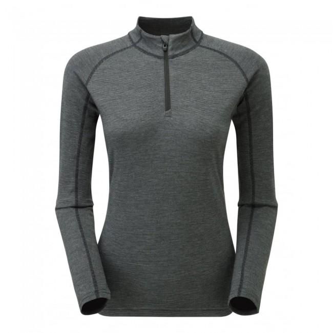 Den er lavet af 50% merinould, 25% PrimaLoft® og 25% polyester. Merinoulden holder fantastisk på varmen, sørger for at trøjen aldrig lugter, og så kradser det overhovedet ikke. PrimaLoft® gør endnu mere for at holde på varmen - også selvom trøjen skulle blive våd. Polyesteren sørger for, at trøjen er strækbar og holdbar nok, til at du kan bruge den igen og igen i lang tid.Opsummeret så gør denne skiundertrøje altså præcis, hvad sådan en skal - bare lidt bedre.Trøjen er behandlet med et POLYGIENE® antibakterielt middel, som sørger for, at bakterierne ikke hober sig op, hvis den ikke bliver vasket lige med det samme. I samarbejde med merinoulden gør dette, at du kan bruge trøjen flere gange, før du behøver at vaske den.Bemærk, at denne model er lavet i et ekstra tykt stof (220 gram), som holder endnu bedre på varmen, end Montanes standardmodeller (140 gram).Specifikationer og featuresMateriale: 50% merinould, 25% PrimaLoft® og 25% polyesterBehandlet med antibakterielt middelVægt: 229 gra