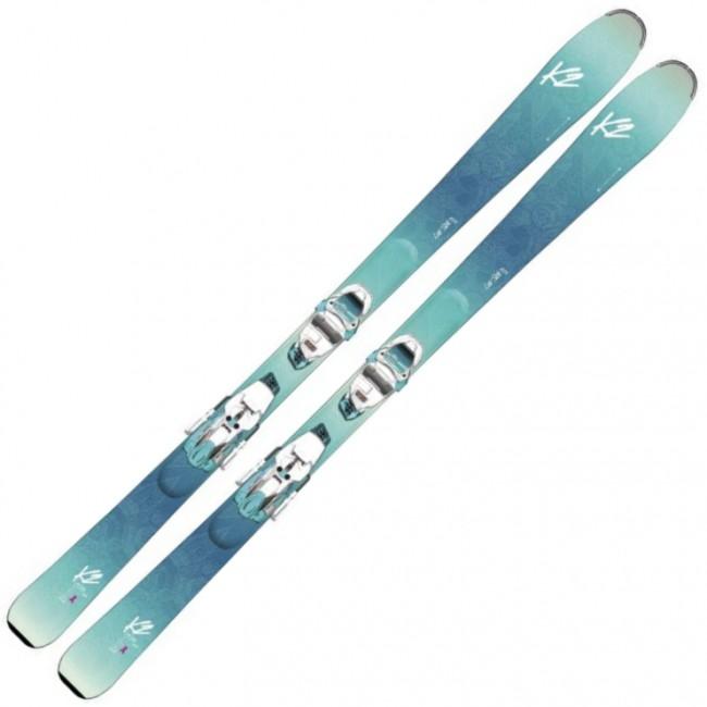 K2 Luv Sick 80Ti er en sjov ski til den øvede kvindelige skiløber.Skien er udstyret med rocker i spidsen samt en fornuftig bredde, hvilket resulterer i, at den let kan klare alt fra nytrimmede pister til opkørt slush eller nysne på pisten.Kernen er lavet at en blanding af kejsertræ og asp, som gør skien livlig, og gør at den sender kraften tilbage til dig på vej ud af svinget. For ikke at gøre den alt for umanerlig er der så lagt et stykke metal hen over, så du kan carve lige så dybt og hurtigt, som du vil, uden at blive smidt af.Specifikationer og featuresSidecut: 121 - 80 - 109Svingradius: 14 meter (ved 163 cm)Kerne: Asp + kejsertræVægt: 1700 gram (ved 163 cm)Binding: ERC 11 TP TCX LIGHT QUIKCLIK Pris inkl. binding og montering.OBS Levering:- Skiene sendes med GLS, hvilket tager 1-3 hverdage. Vær opmærksom på, at