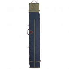 K2 Deluxe Double Ski Bag, blue tan