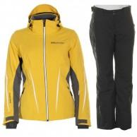 DIEL Bianka/Chara skisæt, dame, gul/sort