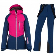 Kilpi Montana/Rhea-W skisæt, dame, mørkeblå