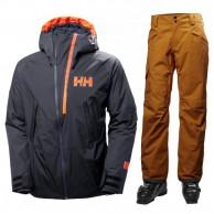 Helly Hansen Nordal/Sogn Cargo skisæt, herre, blå/brun