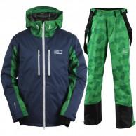 2117 of Sweden Eco Ope skisæt, herre, mørkeblå/grøn