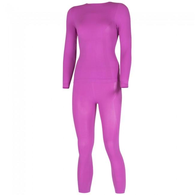 Lenz X-Action skiundertøj, sæt, dame, pink thumbnail