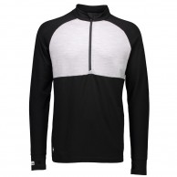 Mons Royale, Checklist 1/2, skiundertrøje, Black/Grey Marl