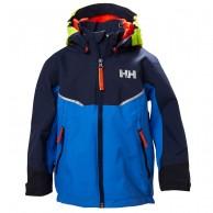 Helly Hansen K Shelter, regnjakke, børn, blå