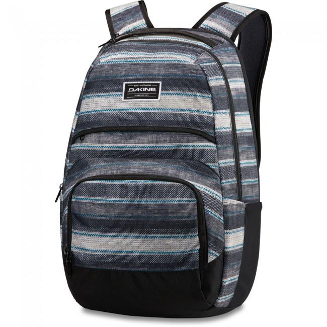 Campus DLX 33L er en stor rygsæk med en lomme til en laptop på op til 15 tommer samt en foret lomme til en iPad. De 33 liter er mere end rigeligt til også at have en masse bøger og en madpakke med i tasken.Tasken har et rygpanel af ergonomisk skum, som følger ryggens krumning, samt åndbare skulderstropper, så tasken er behagelig at have på hele dagen lang.pecifikationer og features:Materiale: 600D Polyester Mål: 53cm x 36cm x 28 cmRumfang: 33 literÅndbare skulderstropper