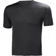 Helly Hansen Merino Light SS, herre, ebony