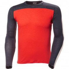 Helly Hansen Merino Light LS, herre, grenadine