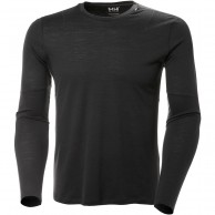 Helly Hansen Merino Light LS, herre, ebony