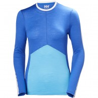 Helly Hansen Merino Light LS, dame, blå