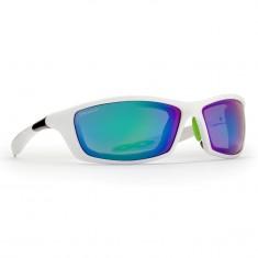 Demon Aspen Outdoor solbriller, hvid/ lime