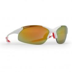 Demon 832 cykelsolbriller, m. 3 sæt linser, hvid