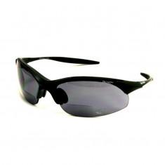 Demon 832 cykelsolbriller, m. læsefelt, sort