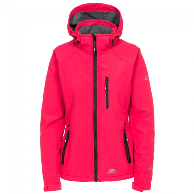 Køb Trespass Bela II, softshell jakke, kvinder, raspberry til 199,00 kr.