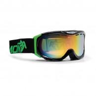 Demon Divine skibriller, sort/grøn
