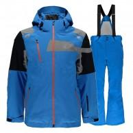 Spyder Titan/Propulsion Tailored skisæt, mænd, blå