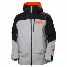 Helly Hansen 2.0 Ridge Shell Jacket, herre, grå/sort