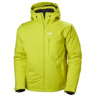 Helly Hansen Double Diamond skijakke, herre, sweet lime