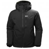 Helly Hansen Double Diamond skijakke, herre, sort