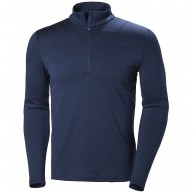 Helly Hansen Lifa Merino Max 1/2 zip, herre, evening blue