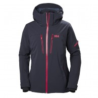 Helly Hansen W Motionista skijakke, dame, graphite blue