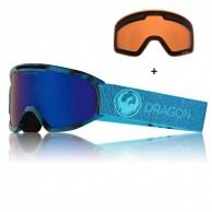 Dragon DX2, Mill/blue, Lumalens