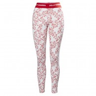 Helly Hansen W Lifa Active Graphic pant, dame, flag red