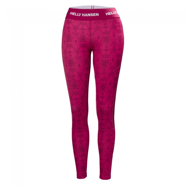 Billede af Helly Hansen W Lifa Active Graphic pant, dame, persian red