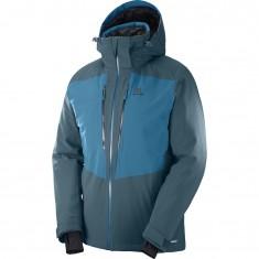 Salomon Icefrost JKT M, skijakke, herre, moroccan blue