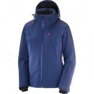 Salomon Brilliant JKT W, skijakke, dame, medieval blue