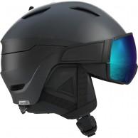 Salomon Driver S, skihjelm med visir, sort