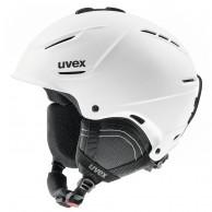 Uvex p1us 2.0 skihjelm, white mat
