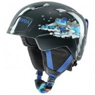 Uvex Manic skihjelm, black snow dog