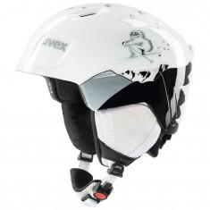 Uvex Manic skihjelm, white yeti