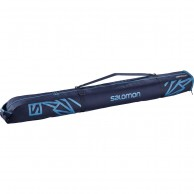 Salomon Extend 1p 165+20 skibag, medieval blue/hawaiian surf