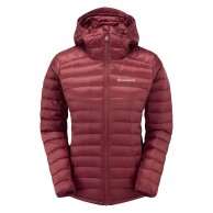 Montane Featherlite Down Jacket, dame, tibetan red
