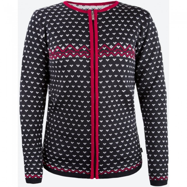 Denne sweater er rigtig god som mellemlag når du er ude på ski, eller blot i koldt vejr. Men da den har fuld længde lynlås, er den også ganske velegnet som yderste lag, evt ovenpå en anden tynd trøje, på de småkolde dage. Merinoulden holder dig varm på de kolde dage, men lader dig også ånde på de dage hvor temperaturen er lidt højere. Specifikationer og featuresFuld længde YKK lynlåsBluesign® certificeretMaterialer50 % Merinould, 50 % Acryl