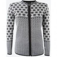 Kama Helga Merino Sweater m. lynlås, dame, black
