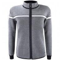 Kama Thora Merino Sweater m. lynlås, dame, graphite