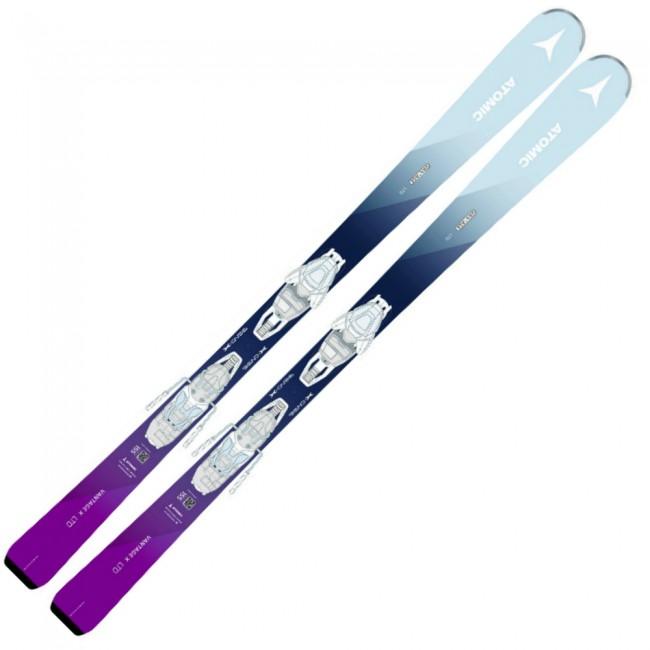Atomic Vantage WMN X Ltd er en dameski, som er designet til at gøre det så nemt og sjovt som muligt at køre på ski i alle forhold.Skien har et eftergivende flex, som sørger for at den aldrig tager magten fra dig. For yderligere at gøre skien både letkørt og stabil, er den udstyret med en let skumkerne, som dæmper vibrationer, samt en cap, som går helt ned over skiens sider og øger skiens stabilitet. Skien har desuden en smule rocker i forenden, som sørger for at skien ikke graver sig ned i sneen, når den bliver dybere eller opkørt hen på dage.Specifikationer og features:Dimensioner: 120 - 71,5 - 98,5 mm (155 cm)Radius: 12,4 mLet kerne af Densolite-skumRocker i forendenInkl. binding og montering af denneOBS Levering:- Skiene sendes med GLS, hvilket tager 1-3 hverdage. Vær opmærksom på, at