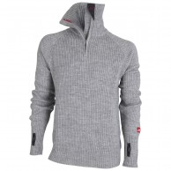 Ulvang Rav sweater w/zip, herre, grå