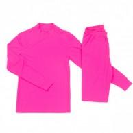 Cold skiundertøj, børn/junior, pink