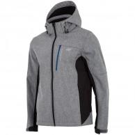 4F Buddy, softshell jakke, herre, grå