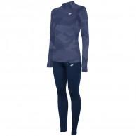 4F Frigg Cooldry skiundertøj, dame, sæt, navy